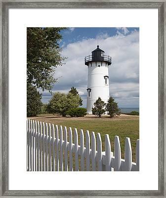 East Chop Lighthouse Framed Print