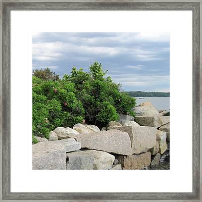 East End Boat Launch Framed Print by Patricia E Sundik