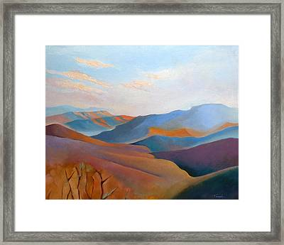 East Fall Blue Ridge No.3 Framed Print