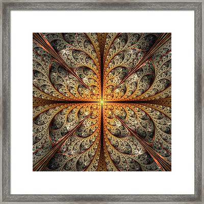 East Gates Framed Print