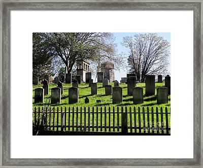Framed Print featuring the photograph East Hampton  by Ed Weidman