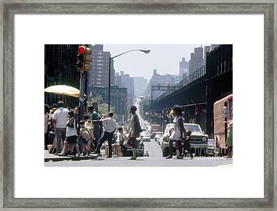 East Harlem Framed Print