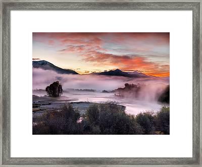 East Idaho Framed Print