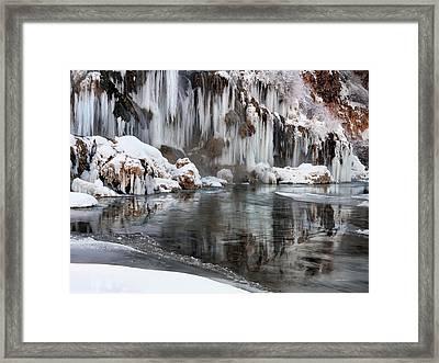 East Idaho Winter Framed Print by Leland D Howard