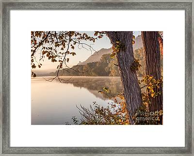 Framed Print featuring the photograph East Lake Morning by Kari Yearous