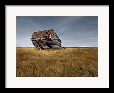 Ranchland Framed Prints