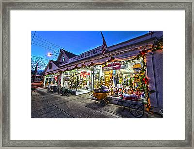 East Moriches Hardware Framed Print