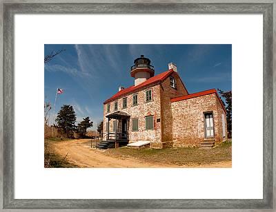 East Point In Spring Framed Print