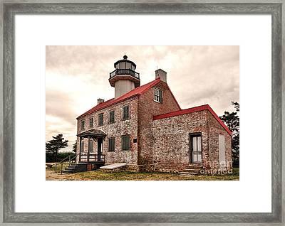 East Point Light Framed Print
