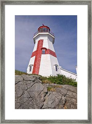 East Quoddy Head Lighthouse Framed Print