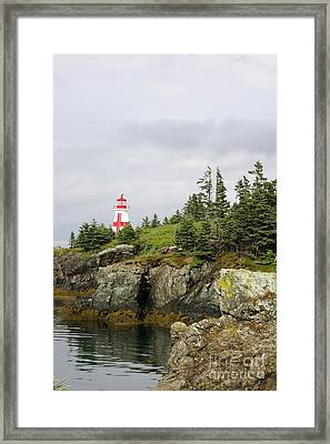 East Quoddy Lighthouse - Campobello Island Framed Print