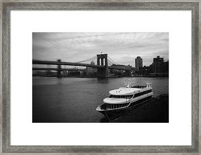 East River Afternoon Framed Print by Ben Shields