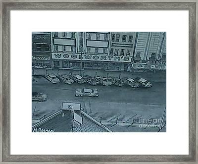 East Side  Framed Print