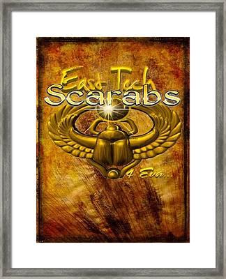 East Tech Scarabs4eva Framed Print by Romaine Head