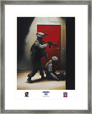 West Vs East 508th Pir Framed Print by Joshua Donaldson