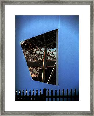 East Wall Of The Marcus Amphitheater At Summerfest Framed Print by David Blank