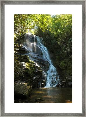 Eastatoe Falls North Carolina Framed Print