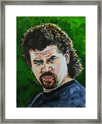 Eastbound And Down Framed Print by Joel Tesch