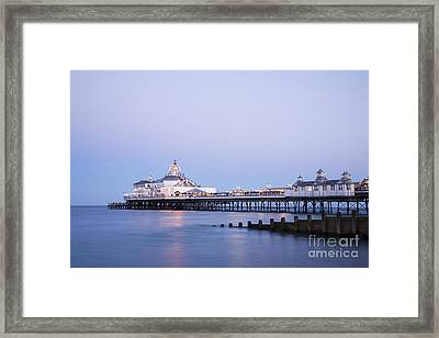 Eastbourne Pier At Twilight Framed Print by Colin and Linda McKie