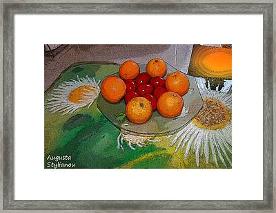Easter And Light Framed Print by Augusta Stylianou
