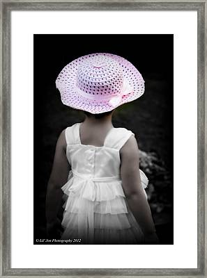 Framed Print featuring the photograph Easter Angel by Jeanette C Landstrom
