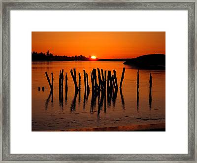 Easter At Popham Framed Print