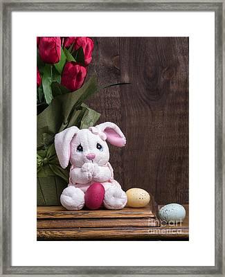 Easter Bunny Framed Print by Edward Fielding