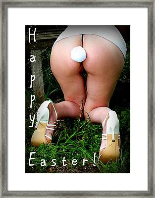 Easter Card 6 Framed Print