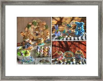 Easter Collage 2 Framed Print