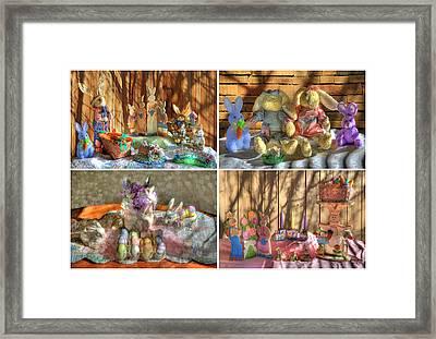 Easter Collage Framed Print