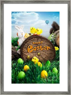 Easter Framed Print by Mythja  Photography