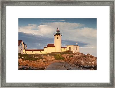 Eastern Point Lighthouse Framed Print by Juli Scalzi