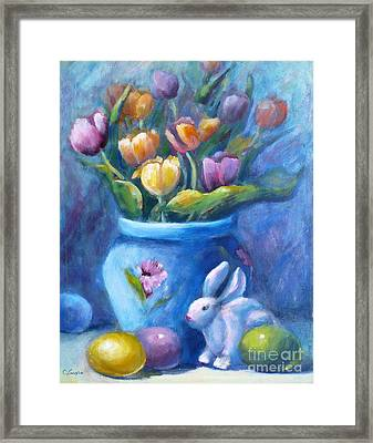 Easter Still Life Framed Print