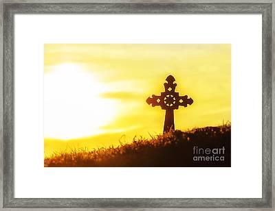 Easter Sunrise  Framed Print by Thomas R Fletcher