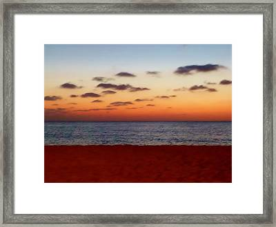 Framed Print featuring the photograph Easter Sunset by Amar Sheow