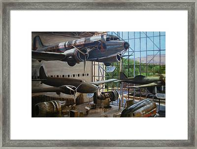 Eastern Airways Framed Print