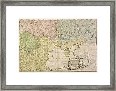 Eastern Europe Framed Print