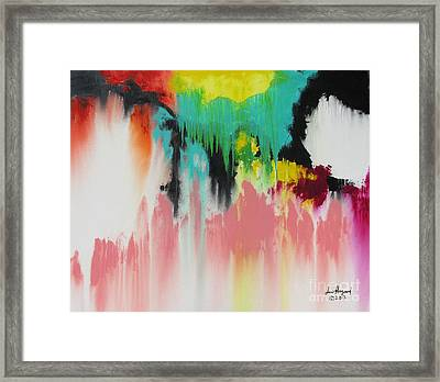 Eastern Feel Framed Print
