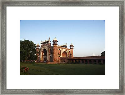 Eastern Gate Framed Print