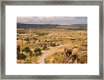 Eastern Mesa View Framed Print