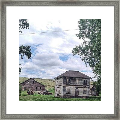 Eastern Oregon Road Trip...more Framed Print by Blenda Studio