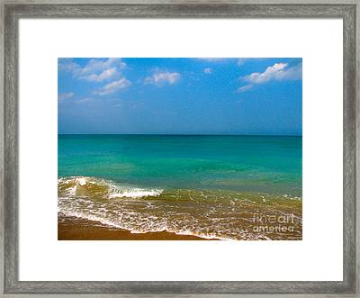 Eastern Shore 2 Framed Print