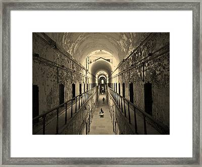 Eastern State Of Mind Framed Print