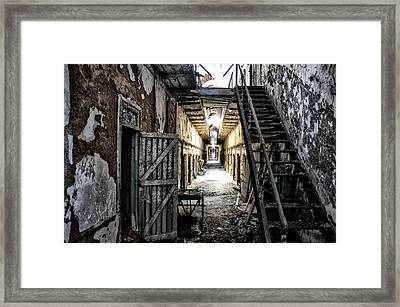 Eastern State Penitentiary In Ruins Framed Print by Bill Cannon