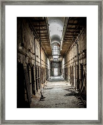 Eastern State Penitentiary Framed Print by Jim DeLillo