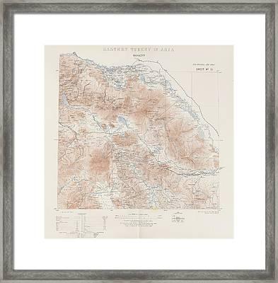 Eastern Turkey Framed Print by British Library