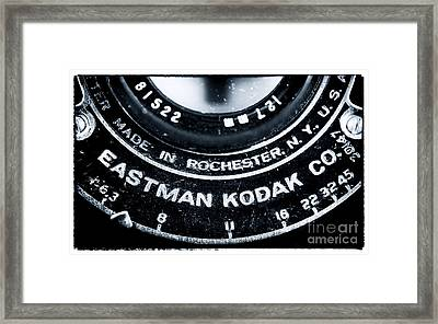 Eastman Kodak Co Framed Print by John Rizzuto
