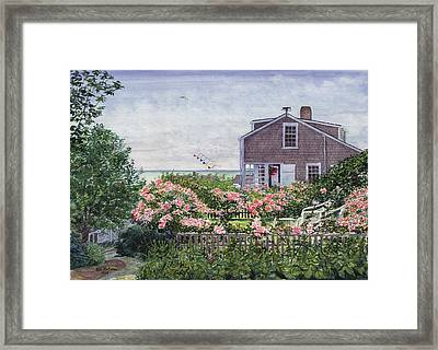 Eastward Look Framed Print