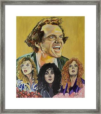 Eastwick Witches Framed Print