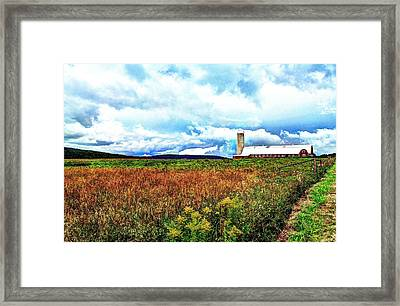 Easy Albany Road Framed Print